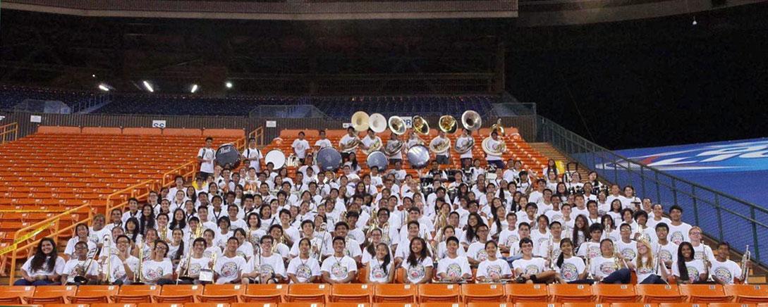 University of Hawai'i Bands JrSrNight 1000px