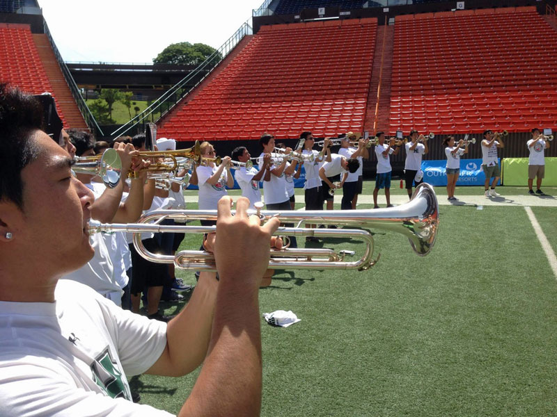 University of Hawai'i Bands JrSrNight33